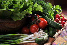 Fresh vegetables. Colorful fresh group of vegetables royalty free stock photos