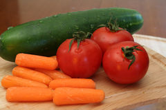 Fresh Vegetables. Are ready to eat Royalty Free Stock Photo