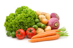 Fresh vegetables Stock Images