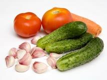 Fresh vegetables. Vegetables for salad Royalty Free Stock Images