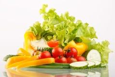 Fresh vegetables. Fresh vegetables on the table Stock Image