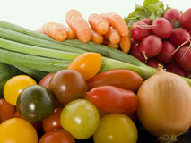 Fresh vegetables. Different kind of fresh vegetables Stock Images