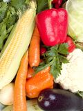 Fresh vegetables background Royalty Free Stock Photos