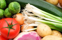 Fresh vegetables background Royalty Free Stock Image