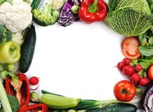 Fresh vegetables, banner Stock Photo