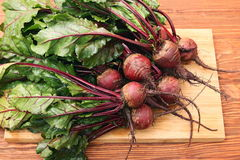 Fresh vegetables beetroot Stock Images