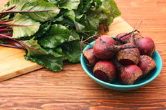 Fresh vegetables beetroot Royalty Free Stock Images