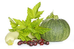 Fresh vegetables and berries Stock Photos