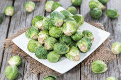 Fresh Vegetables (Brussel Sprouts) Royalty Free Stock Image