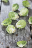 Fresh Vegetables (Brussel Sprouts) Stock Photography