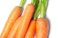 Fresh Vegetables carrots Stock Images