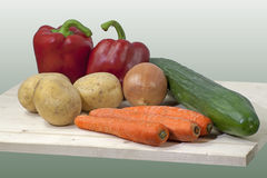 Fruit and vegetables composition Royalty Free Stock Images