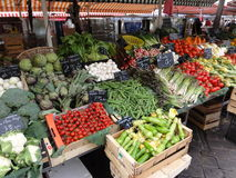 Market Vegatables Stock Photo