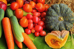 Fresh vegetables - fruit variety. Stock Images