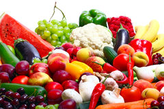 Fresh Vegetables, Fruits Royalty Free Stock Photo