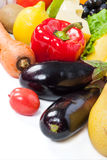 Fresh vegetables and fruits Royalty Free Stock Image