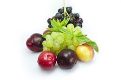 Fresh vegetables,fruits and berries Royalty Free Stock Photo