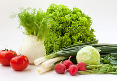 Fresh vegetables. Are good for health Stock Photos