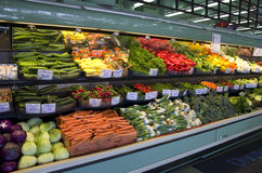 Fresh vegetables grocery store supermarket Stock Image