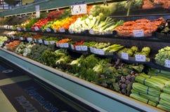 Fresh vegetables grocery store supermarket stock image