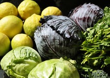 Fresh vegetables for a healthy diet Stock Photography