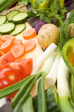 Fresh vegetables, healthy diet Stock Images