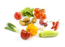 Fresh vegetables, healthy diet stock image