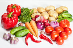 Fresh vegetables - healthy eating concept Stock Image