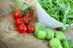 Fresh vegetables - Healthy food Royalty Free Stock Photos