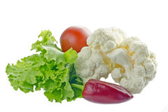 Fresh vegetables isolated on white.#1 Stock Images