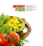 Fresh vegetables isolated on white background Royalty Free Stock Image