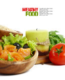 Fresh vegetables isolated on white background Stock Photography