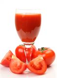 Fresh vegetables and juice Stock Images