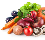 Fresh vegetables with leaf lettuce Stock Image