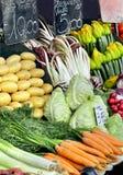 Fresh vegetables market Royalty Free Stock Photo