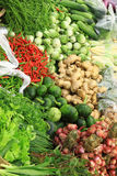 Fresh vegetables in market , Asia, Thailand Royalty Free Stock Photos