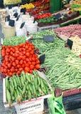 Fresh vegetables market Stock Photos