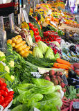 Fresh vegetables market Royalty Free Stock Photos