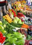 Fresh vegetables market Royalty Free Stock Photos
