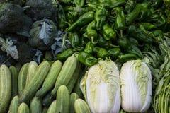 Fresh vegetables market Stock Image