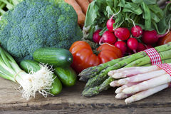 Fresh vegetables from the market Royalty Free Stock Photography