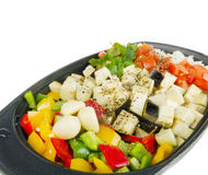 Fresh vegetables mix ready be cooked Stock Images