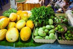 Fresh Vegetables On The Market Stock Photos