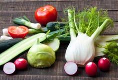 Fresh vegetables. Fresh organic vegetables is good for health Stock Image