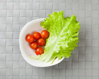 Fresh vegetables on plate Royalty Free Stock Photo