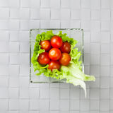 Fresh vegetables on plate Royalty Free Stock Image