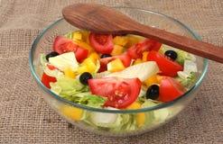 Fresh vegetables salad Stock Photo