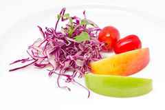 Fresh Vegetables For Salad Royalty Free Stock Photography