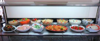Fresh Vegetables Salads stock image
