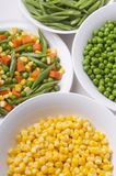 Fresh vegetables for salads. Healthy and fresh vegetables for salads royalty free stock photography
